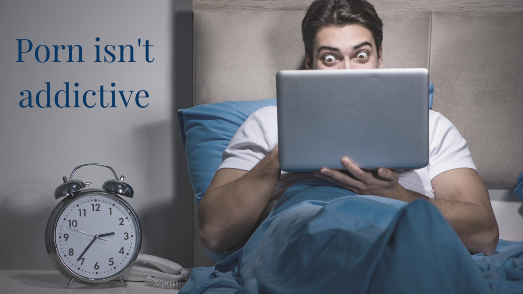 Porn Isn't addictive