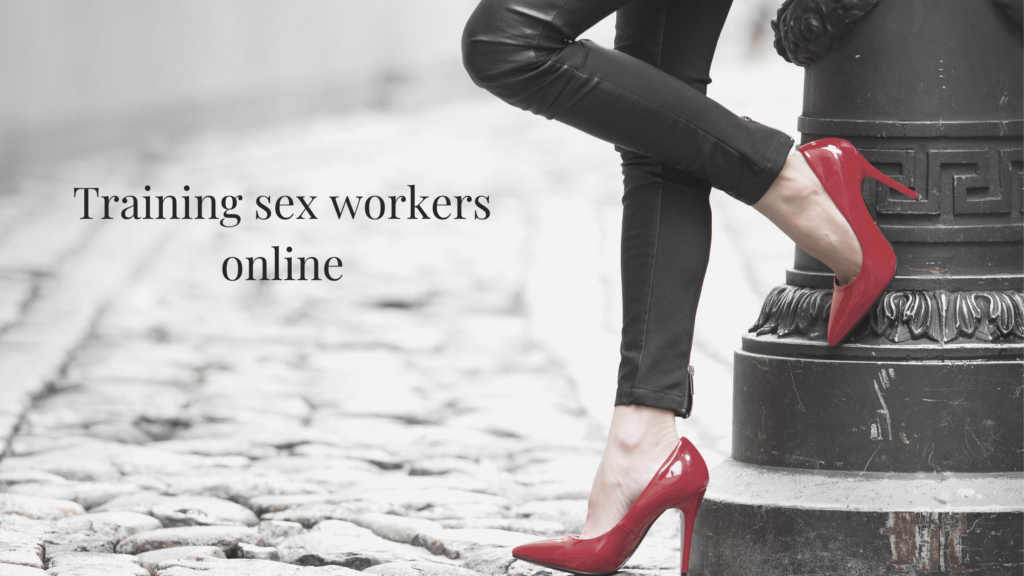 Training sex workers online