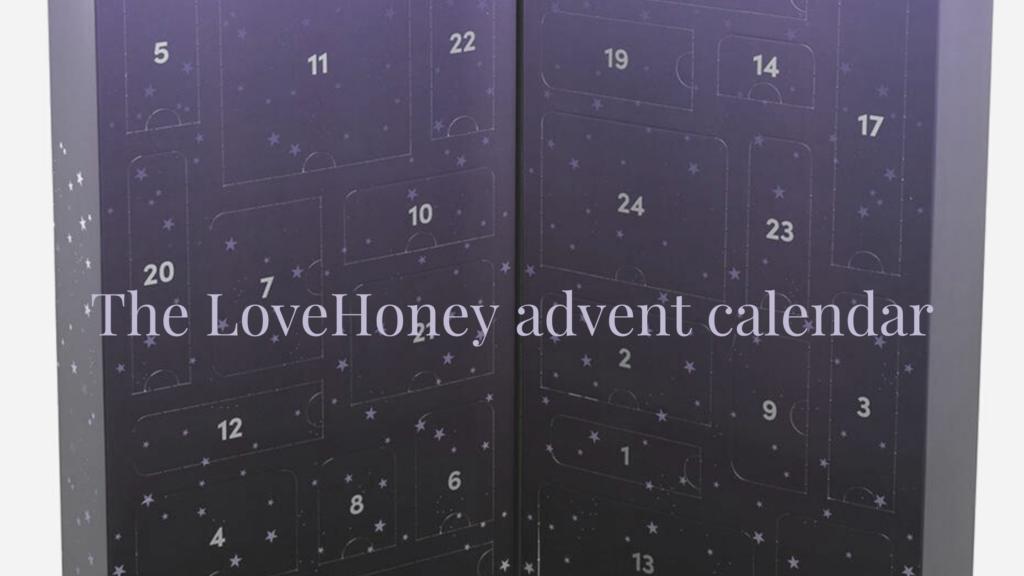 Lovehoney advent calendar